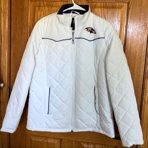 Baltimore Ravens Puffer Jacket